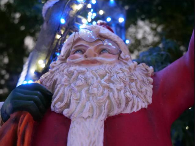 2018安山星光村罗瓦涅米圣诞村灯光节