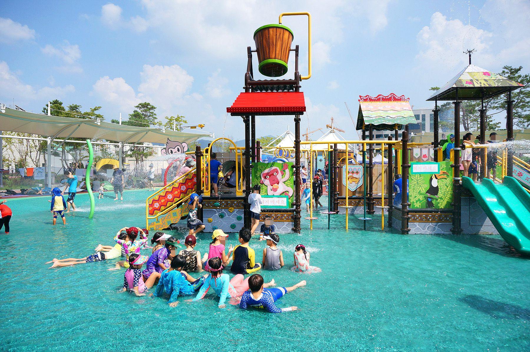 洛陽水愛公園戲水區