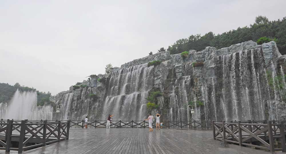 露積峰公園-露積峰瀑布(노적봉 공원-노적봉 폭포)