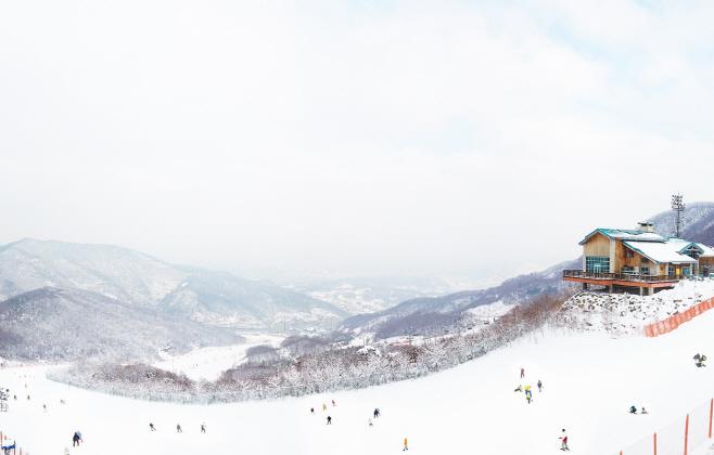 昆池岩滑雪渡假村(곤지암리조트 스키장)3