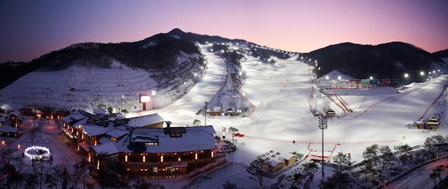 陽智Pine渡假村滑雪場(양지파인리조트 스키장)