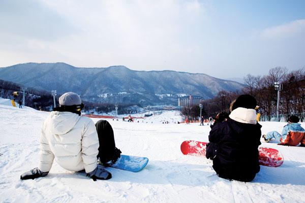 陽智Pine渡假村滑雪場(양지파인리조트 스키장)3